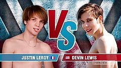 Naked Twink Contest - Devin & Justin