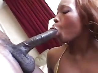Angel Eyes Licks A Greasy Nut Sack