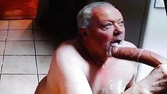 Erachi loves sucking cock and eating cum!