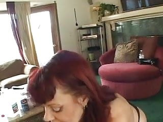 Slutty mature broads ram toys in pussies in living room