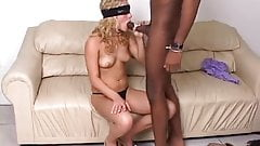 Blindfolded And Screwed By A Black Pole