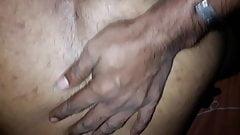 Srilankan hairy ass fucked doggystyle bareback