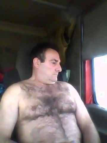 naked amateur mature trucker men solo