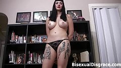 Samantha Muscle knows you like cock!