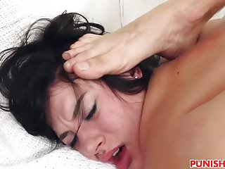 Teen thief Kymberlee Anne gets cock punishment