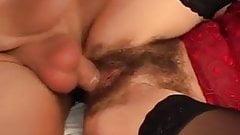 mature hairy fucked very well
