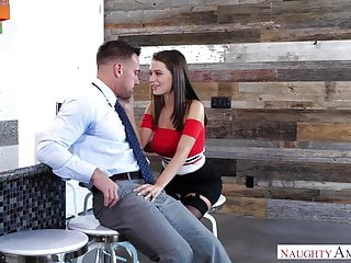 HOTWIFE LANA RHOADES FUCKS HUSBANDS PARTNER