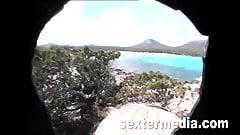 Heimlich gefilmt - Sie zeigt ihre Fotze auf Mallorca