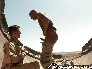 FalconStudios Sergeant Sean Zevran Orders A Dick Suck