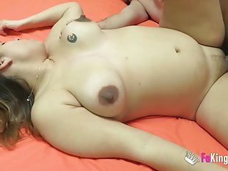 A hot and horny pregnant girl and her boyfriend get it on