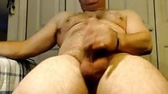 hairy str8 dad wanks