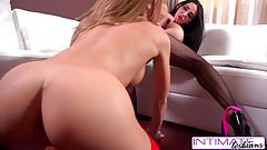 Intimate Lesbians - Amy and Nicole fuck each other pussy