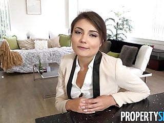PropertySex - Ridiculously hot real estate agent fucks ex