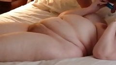 BBW Wife Clair - Dildo in hot pussy