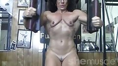 Annie Rivieccio Nude in the Gym