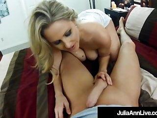 Unaware Milf Julia Ann Fucked DoggyStyle On Hidden Cam!