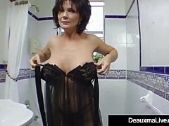 Mature Milf Deauxma Has Big Squirting Orgasm With Boy Toy!