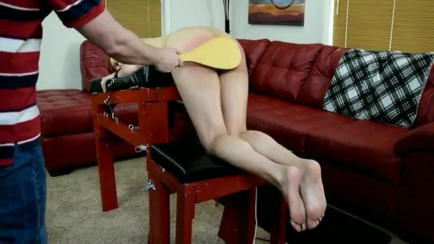 horny lady punished
