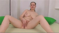 Cute Fat Chubby Teen GF showing her ass and pussy