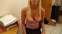 Job Interview with a Hot German Milf