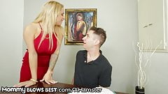 MommyBlowsBest Step-Son Seduced By Big Titty Step-Mom