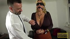 PASCALSSUBSLUTS - Shannon Boobs gagged before rough anal's Thumb
