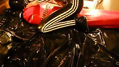 Breathplay Red Latex Bag