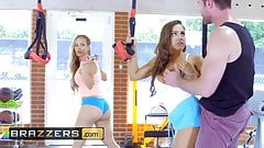 Big TITS in Sports - Abigail Mac Nicole Aniston Charles Dera