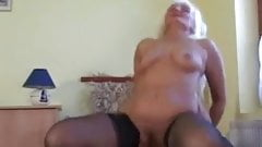 Blonde Grandma is a Whore