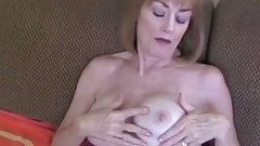 Cumslut Grandmother Fucks At Home
