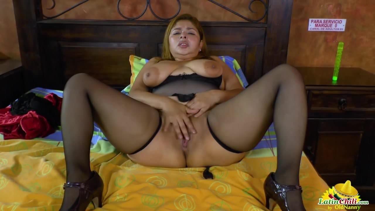 Latinchili Busty Mature Karina Solo Masturbation Porn 8D Pt-2747