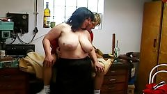 Mature Bushy BBW