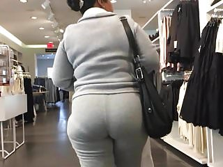 Mexican Gilf with TIGHT ass in sweats Part 3