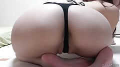 Beautiful Japanese Sarina Kurokawa Sexy G-String