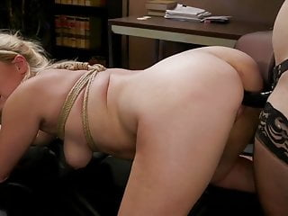 Office Intern Summer Day gets fucked by boss lady