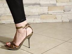 Sexy brunette feet 2