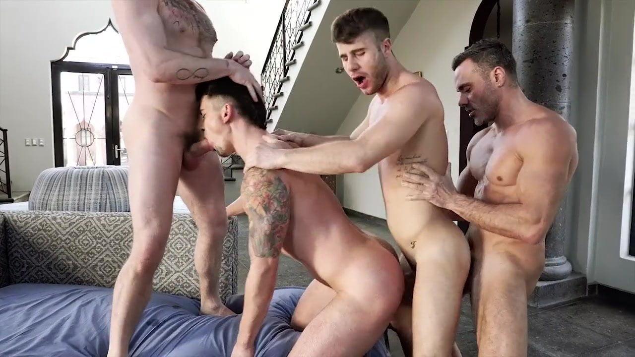 Bareback Orgy Par-tay!
