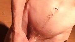 Masturbation outside