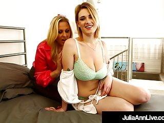 Sex Bomb Milf Julia Ann Finger Bangs Young Siri PornStar!