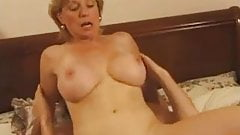 French milf blonde young big boobs And have