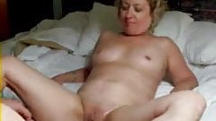 Pervert wife masturbating in front of hubby and squirt !