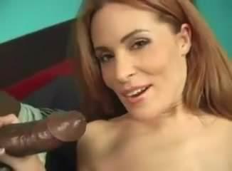 Ginger Leah MILF Interracial