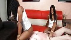 Black Girl Masters and White Boy Slaves 1