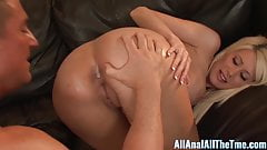 Hot blonde Gets Big Load in Ass After Anal Fucking All Anal!