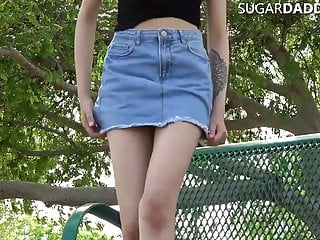 Tiny Tight Pussy Teen Wants Sugar Daddy To Pay 4 College