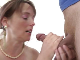 Real MOM fucks her young son's best friend