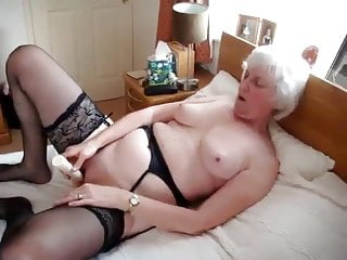 Old Grannywith vibrator