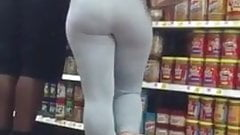Super Thick Blonde in Spandex