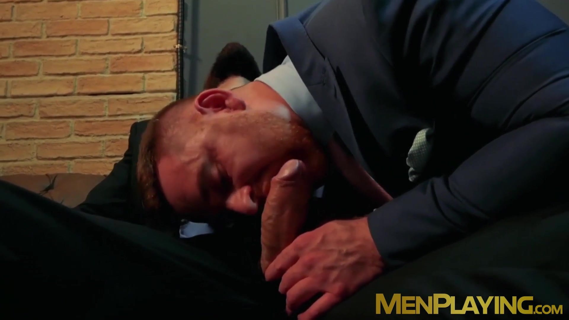 Elegant males have some perverted enjoyable outdoors of their workplace