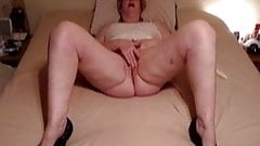mature rubbing to Orgasm